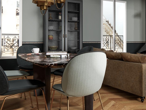 Juin 2021 - Rénovation d'un appartement parisien
