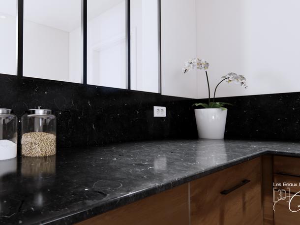 Janvier 2020 - Rénovation d'une élégante cuisine (cliquez pour découvrir le projet complet)
