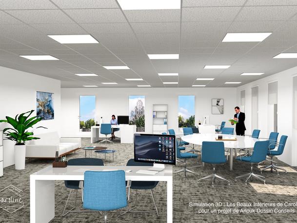 Mai 2019 - Immeuble de bureaux pour Vinci Immobilier