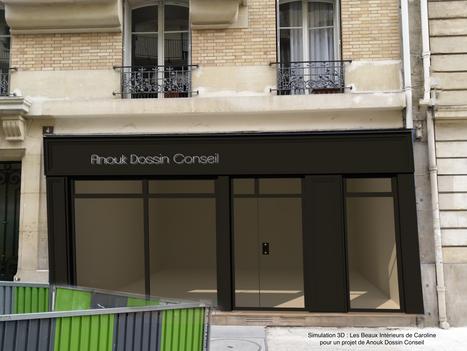 Juin 2019 - Projection 3D d'une façade rénovée (cliquez pour découvrir le projet complet)