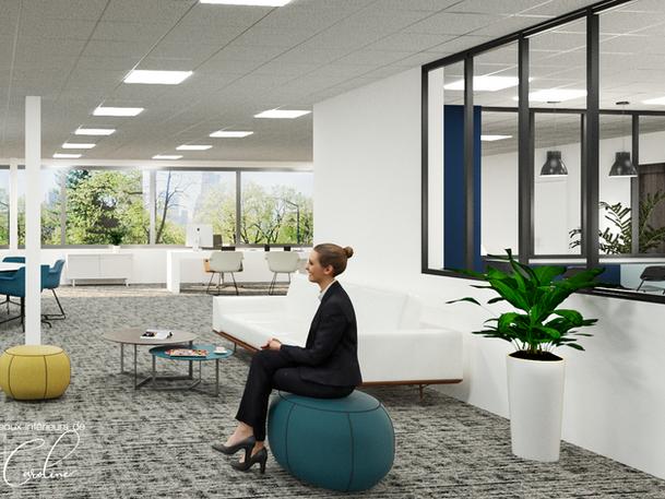Décembre 2019 - Immeuble de bureaux à Eragny (cliquez pour découvrir le projet complet)