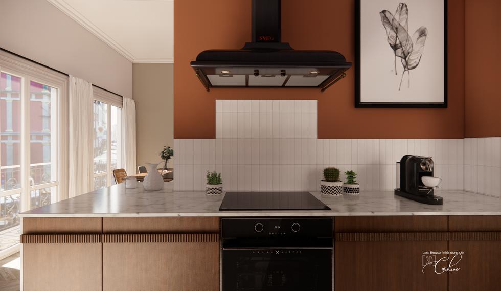 Projet 3D : cuisine