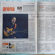 Interview and album review in Namdals Avisa