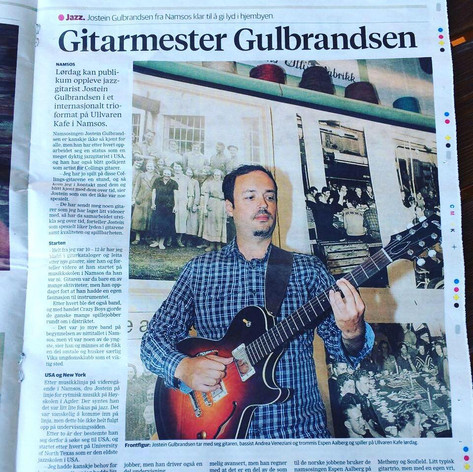 Interview in Trønderavisa