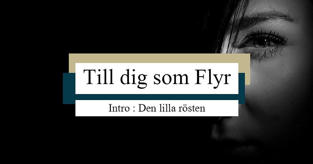 Till dig som Flyr - Intro, Den lilla rösten