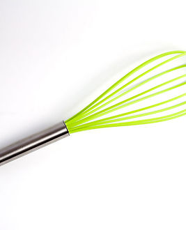 Green Silicone Whisk