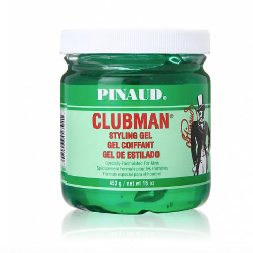 Pinaud Clubman Styling Gel, Jar, 16 oz.