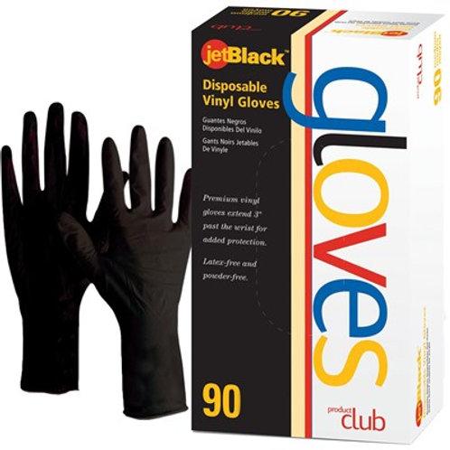 Product Club jetBlack Vinyl Gloves 90ct