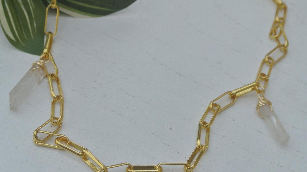 Cassy -Crystal Necklace