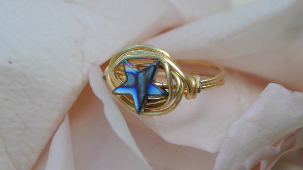 Stardust ring ~ Request size with purchase