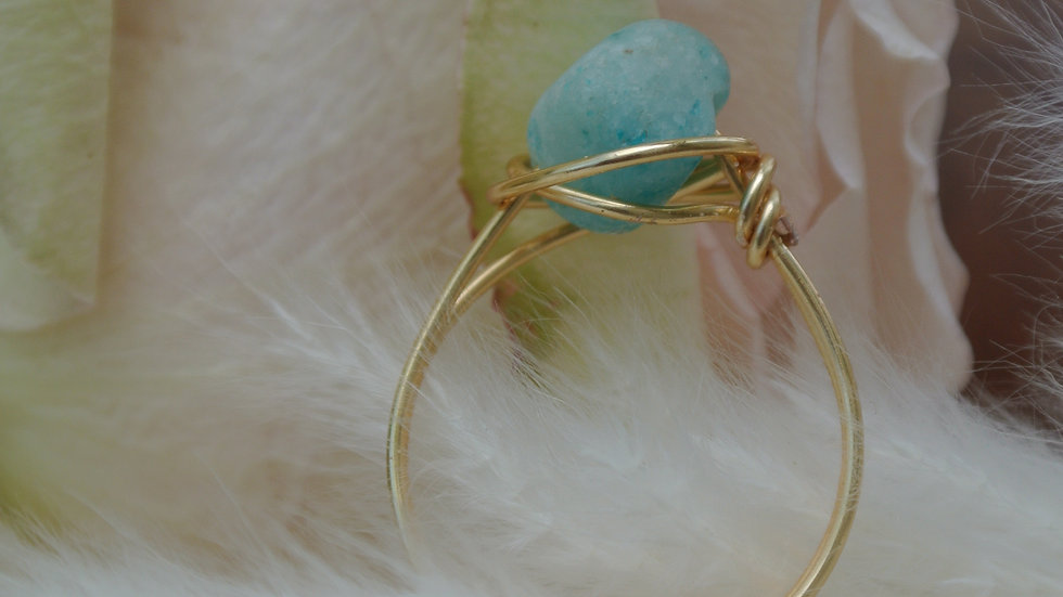 beach ring ~ Request size with purchase