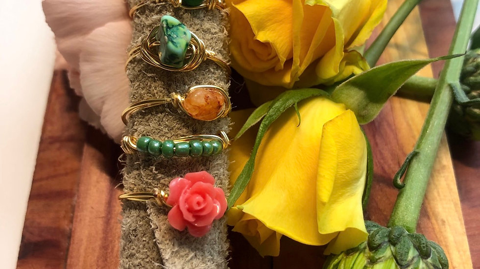 Ring Bundle • Request your size with purchase