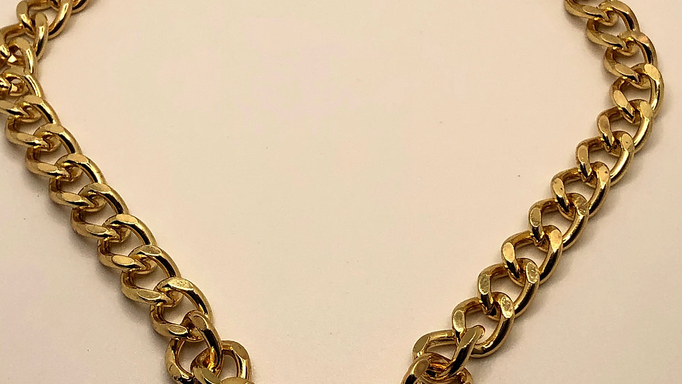 90's baby • Gold Chain Necklace