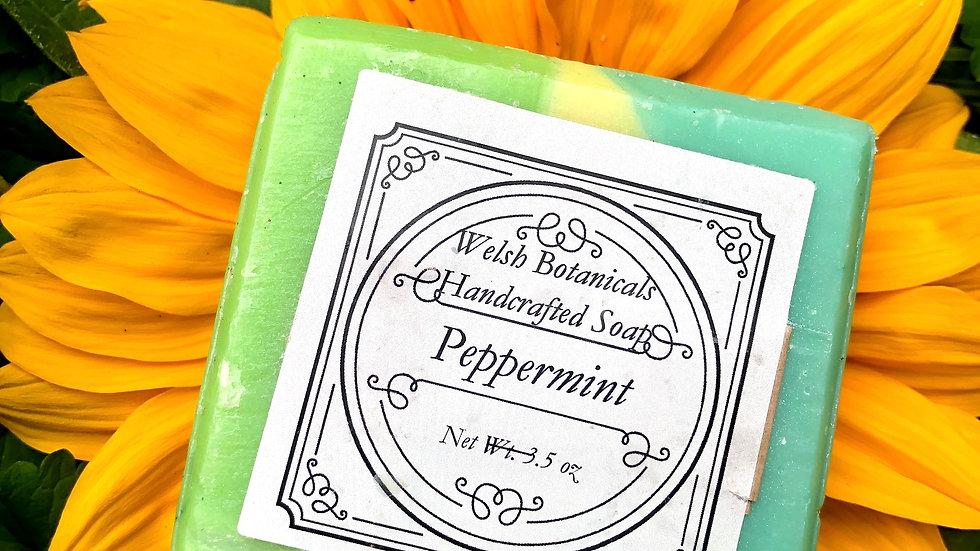 Peppermint• Homemade Organic soap