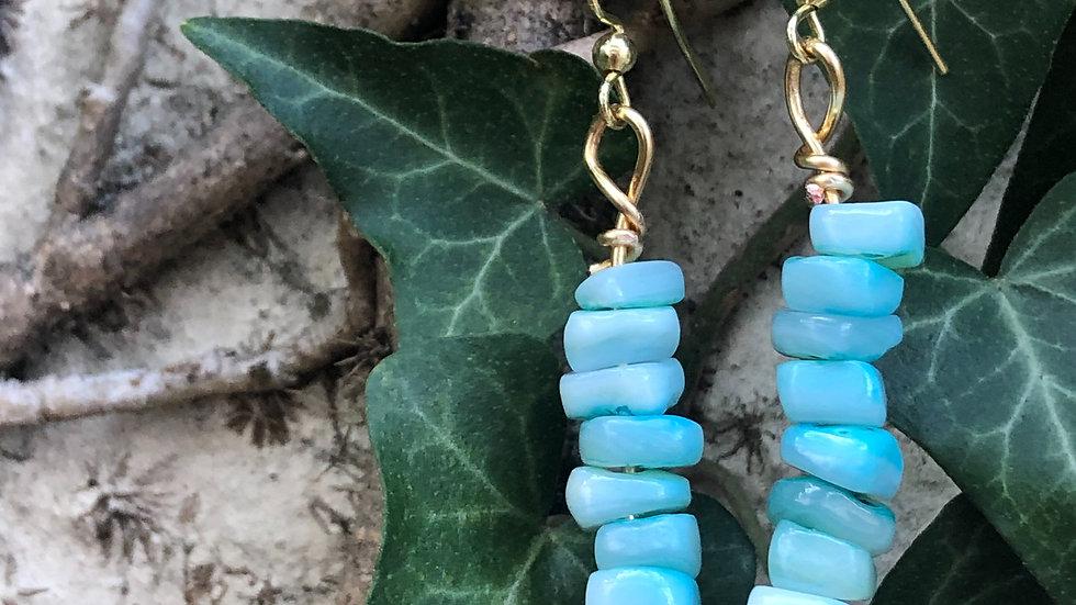 Rocky Water Earrings