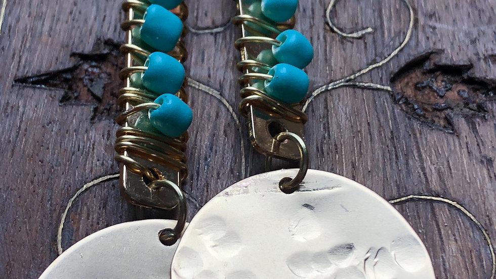 Blue sky - Earrings