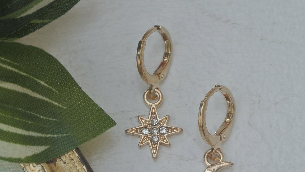 Stardust - Cuff earrings