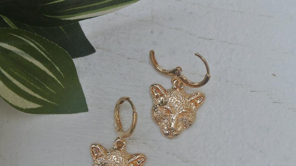 Tiger - Cuff earrings