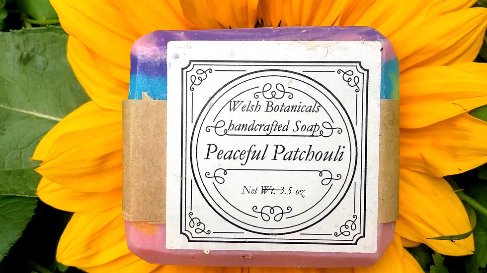 Patchouly• Homemade organic soap