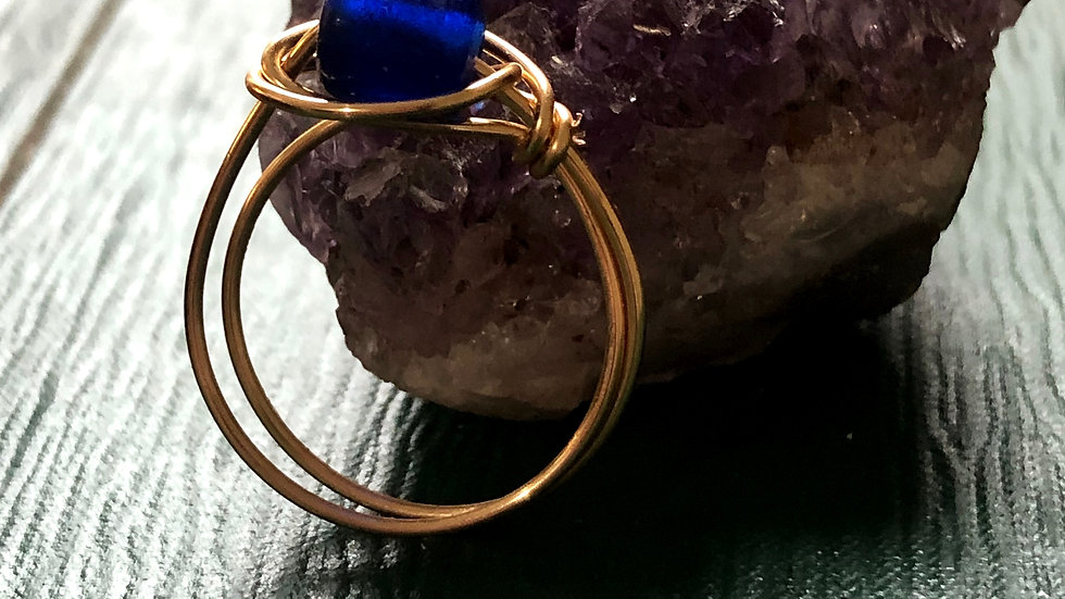 Wire wrapped ring • Request ring size withpurchase