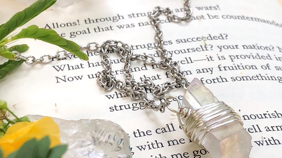 Clarity • Crystal Necklace