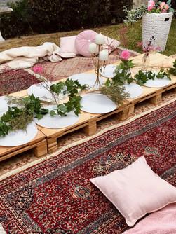 Low Line Pallet Tables