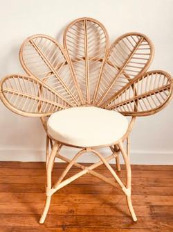 Rattan Flower Chair