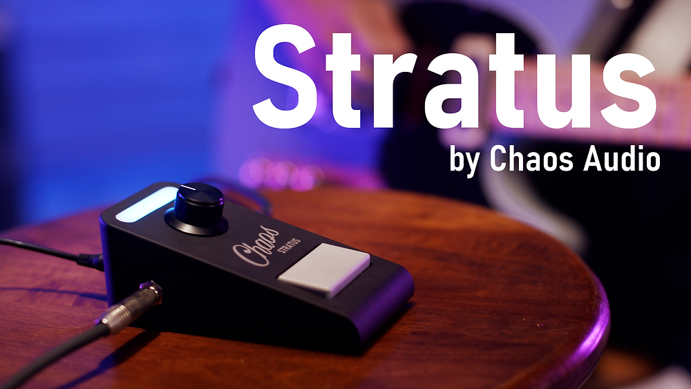 Stratus Kickstarter Title Card Guitar Pedal