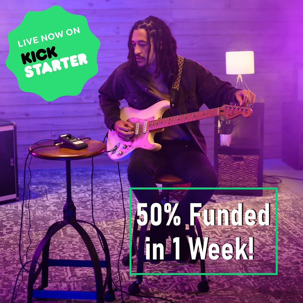Guitar Kickstarter funding image