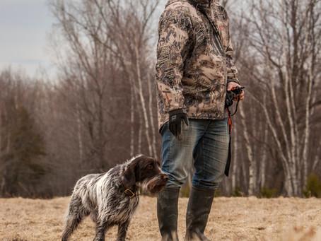 Des chiens et des Hommes...  Of dogs and men.