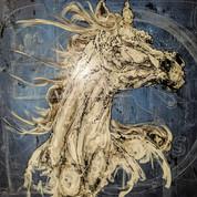 Childhood blackboard horse #1