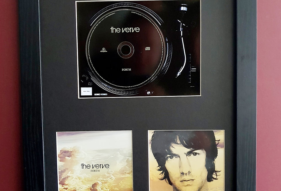 The Verve Forth cd album display