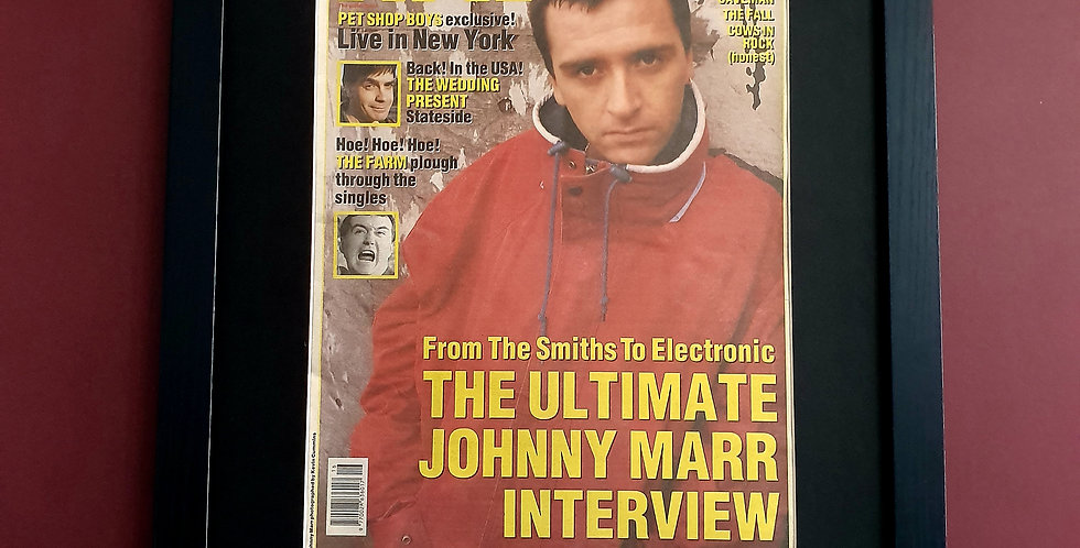 Johnny Marr NME display