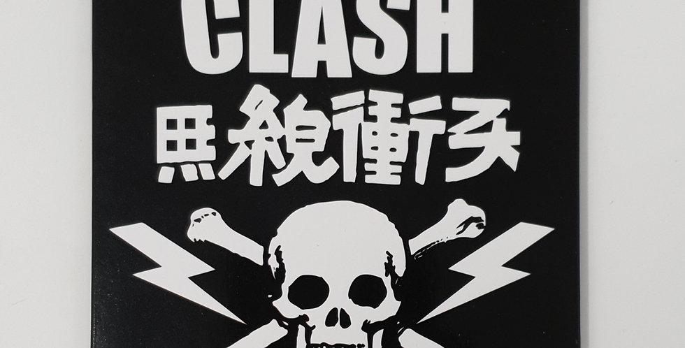 The Clash Skull Fridge Magnet