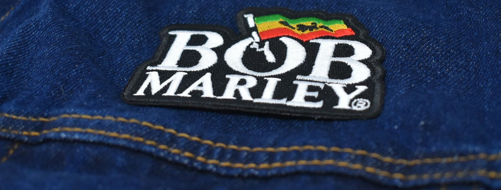 Bob Marley Flag Embroidered patch