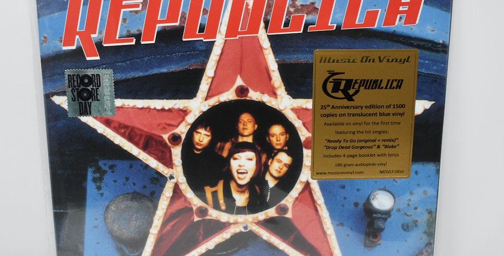 Republica - Republica (Translucent Blue Coloured Vinyl)