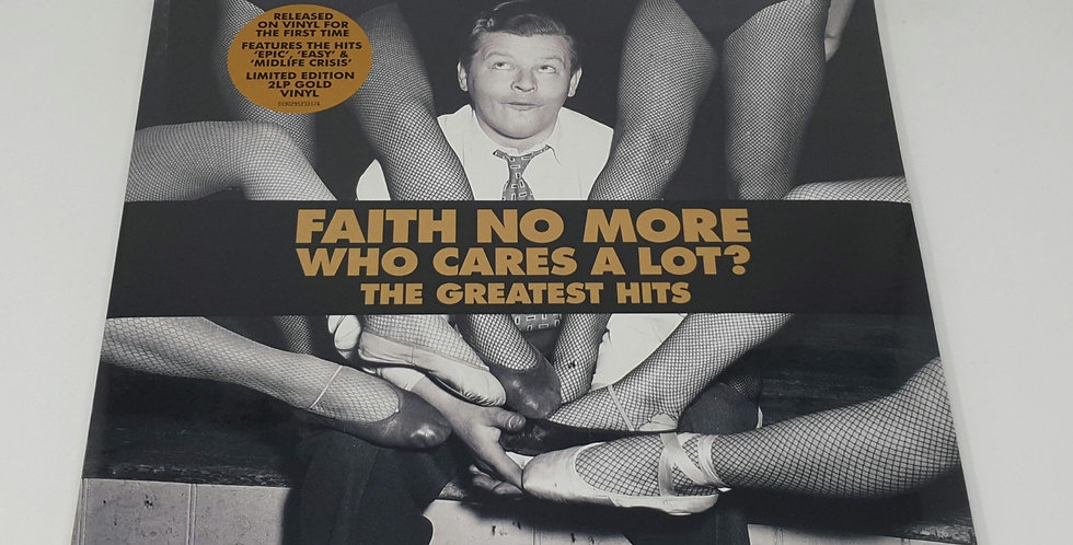 Faith No More Who Cares A Lot? The Greatest Vinyl Album