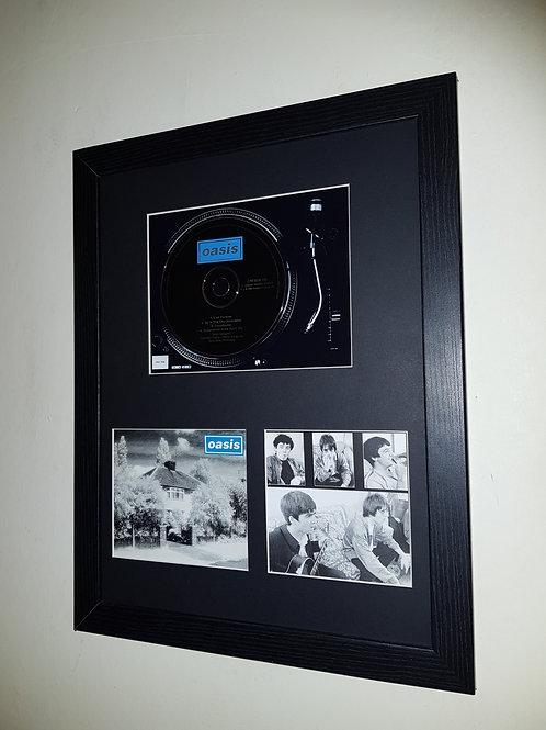 Live Forever cd single display