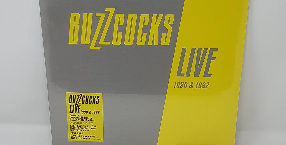 Buzzcocks Live 1990 & 1992 Coloured Vinyl Album