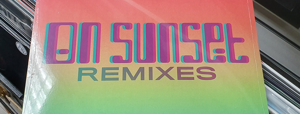 "Paul Weller On Sunset Remixes 12"" Vinyl EP Limited Edition"