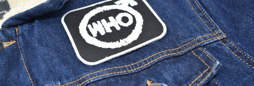 The Who Embroidered patch