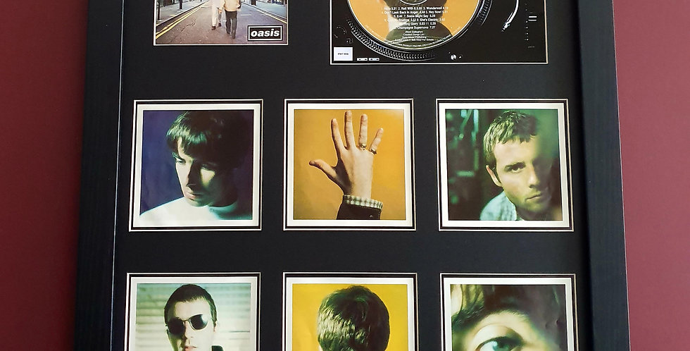 Whats the story cd album & artwork display