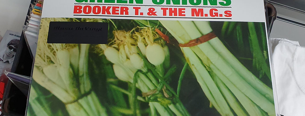Booker T & The M.G.s Green Onions Vinyl Album