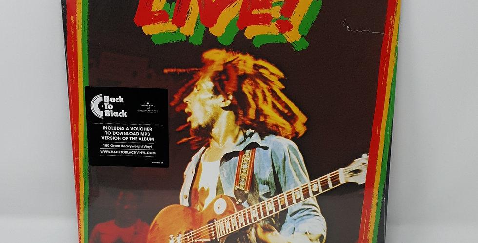 Bob Marley And The Wailers Live Vinyl Album