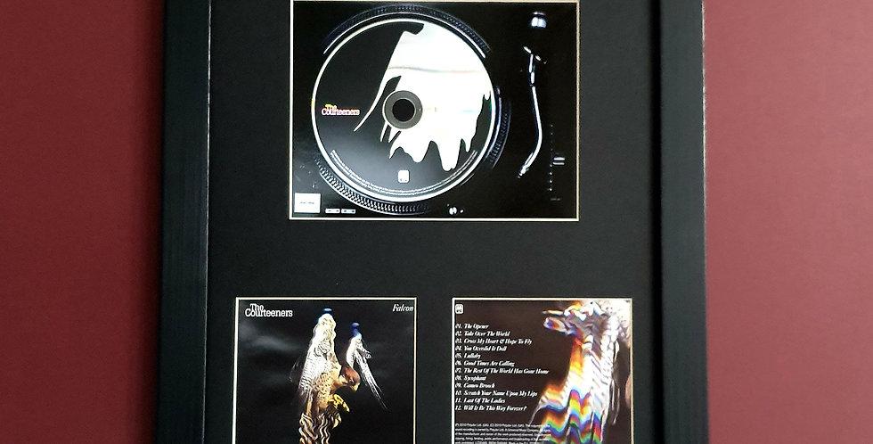 Courteeners Falcon cd album display
