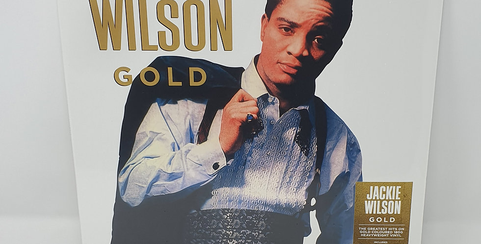 Jackie Wilson Gold Coloured Vinyl Album