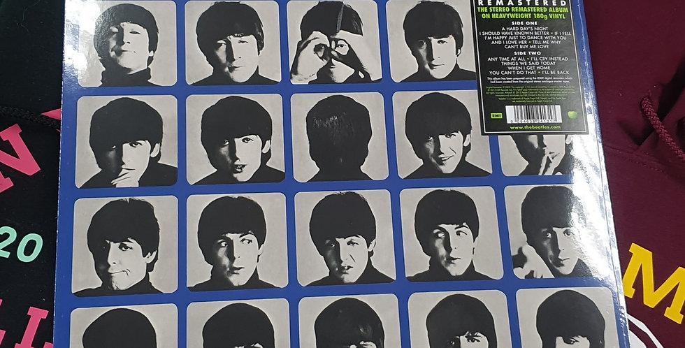 The Beatles A Hard Days Night Vinyl Album
