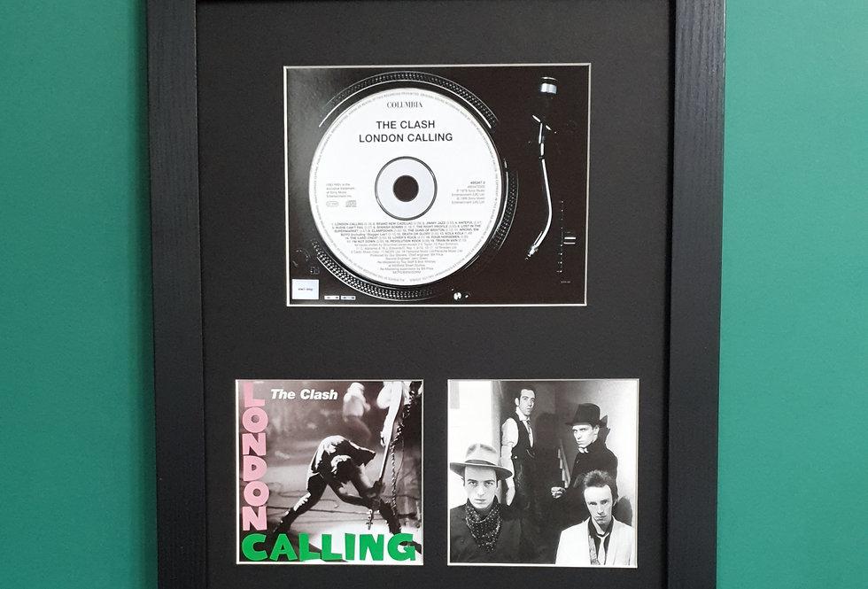 The Clash London Calling cd display