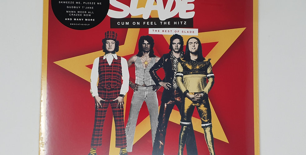 Slade Cum On Feel the Hitz. The Best Vinyl Album