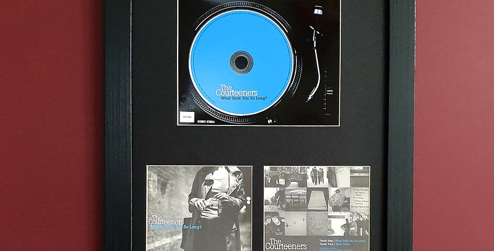 Courteeners What took you so long cd single display